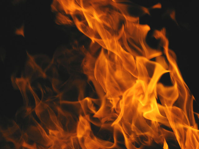 Vehicle fire fully involved two acres of brush in Awendaw-McClellanville