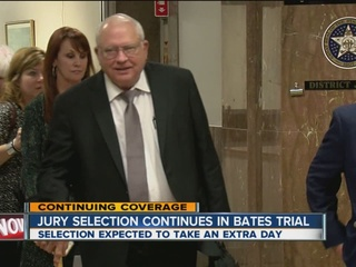 Bates Trial: Day 3, jury seated; trial to begin
