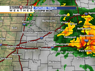 TIMELINE of May 9 severe weather