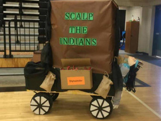 Coweta Schools apologizes for homecoming float