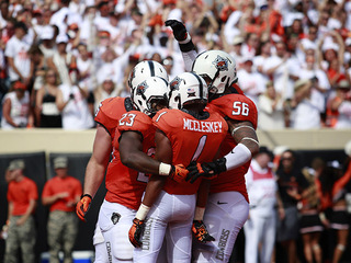 PHOTOS: OSU beats Pittsburgh Panthers 45-38