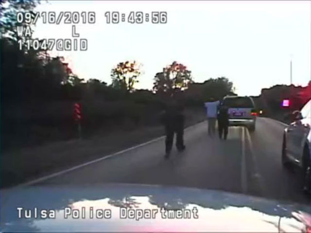 Terence Crutcher: Officer Tyler Turnbough dash cam video of fatal…