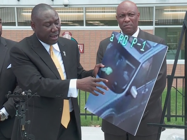 Benjamin Crump, attorneys hold presser about Terence Crump, Tulsa Police…