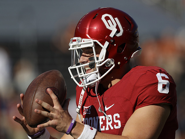 Oklahoma's Baker Mayfield is the 2017 Heisman Trophy victor