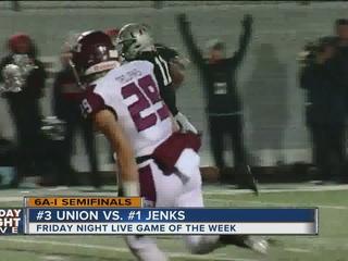 TONIGHT: Jenks, Union face off in semis