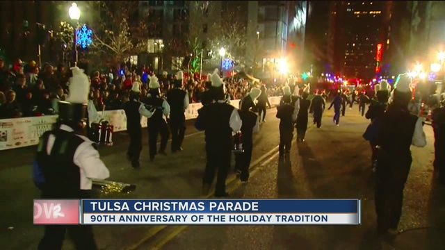 90th annual tulsa christmas parade