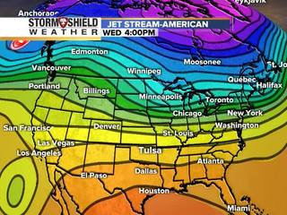 Looking at Christmas weekend T-storm potential