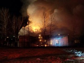 Several animals killed in Sapulpa barn fire