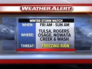 TRACKING: Freezing rain amount and timing