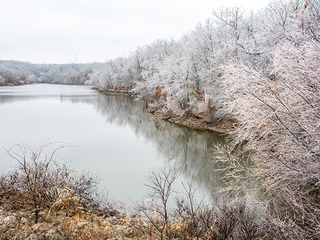 Freezing rain and ice hit Green Country