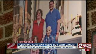 Dusting Divas clean for boy in cancer remission