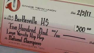 Bartlesville dance team wins two national titles