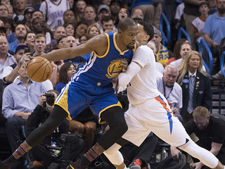 PHOTOS: OKC Thunder vs. Golden State Warriors