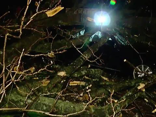 Severe weather tracks across state