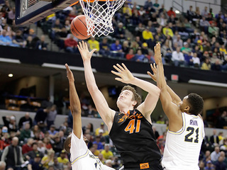 PHOTOS: OSU Cowboys fall to Michigan 92-91