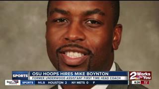 OSU names Mike Boynton as new basketball coach