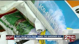 Paul James: Fertilizer needed after heavy rains
