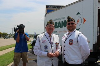 Food 2 Veterans food drive May 30 in B.A.