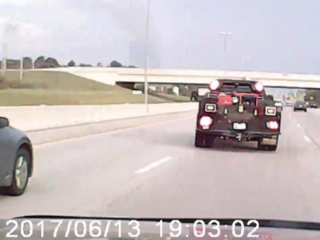 BAPD searching for driver in road rage incident