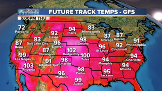 BLOG: Triple digit heat possible this week
