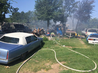 Dog dies in west Tulsa mobile home fire