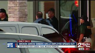 Embers Grille employee speaks out