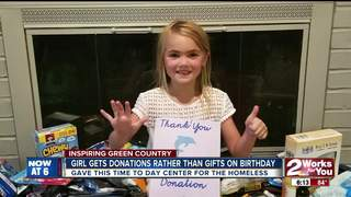 Girl asks for donations rather than b-day gifts