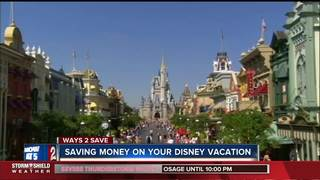 How to save on a Disney vacation