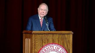 OU President David Boren announces retirement