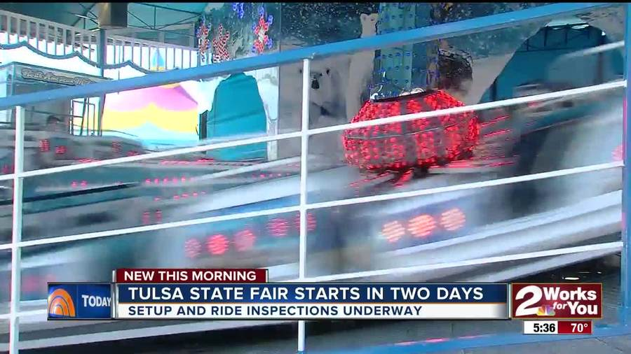 Preparations Are Underway For The 2017 Tulsa State Fair