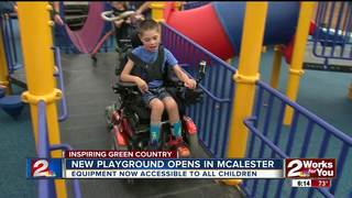 All-inclusive playground opens in McAlester