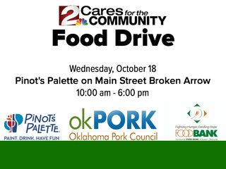 Donate to Food Bank in Broken Arrow Oct 18