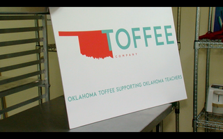 Company uses toffee to help Oklahoma teachers