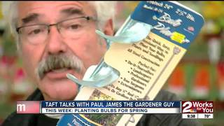 Paul James: Tools For Planting Spring Bulbs