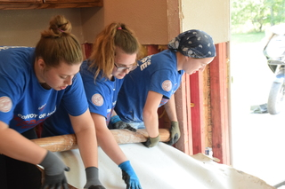 ORU students reflect on work in Harvey aftermath