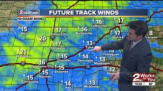 Forecast: A breezy Monday ahead
