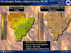 WEATHER BLOG: Fire danger increases today