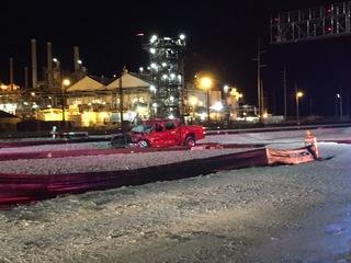 Train strikes truck in west Tulsa, 2 injured