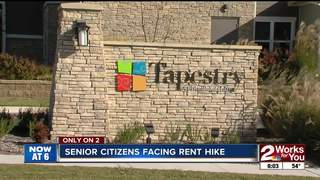 Rent almost doubling at senior living complex