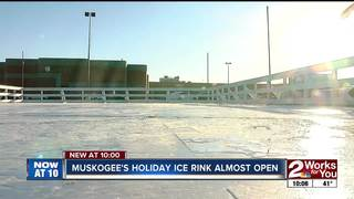 Holiday ice rink moves to downtown Muskogee