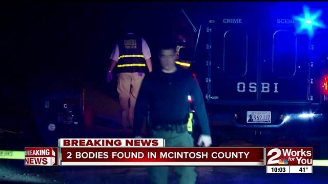 Two bodies found in McIntosh County