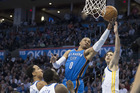 Westbrook's 34 points lead Thunder past Warriors