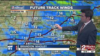 Forecast: Gusty winds for Friday and warmer