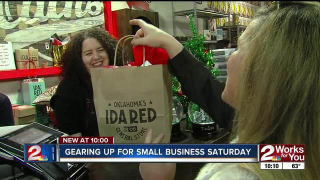 Local businesses in Tulsa are gearing up for Small Business Saturday