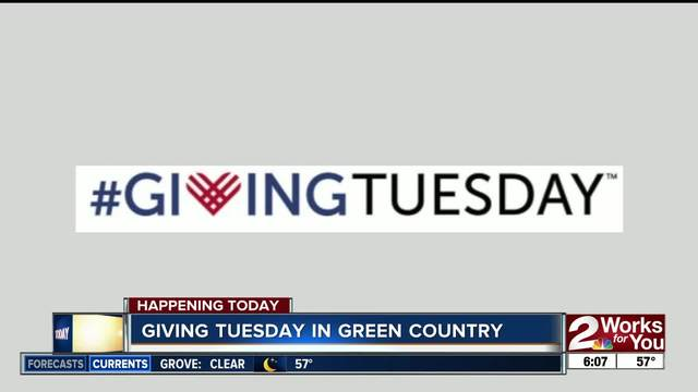 Give local for Giving Tuesday