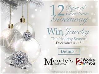Moody's 12 Days of Christmas Giveaway 2017