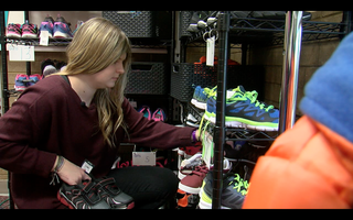 Jenks teen dreams of giving shoes worldwide