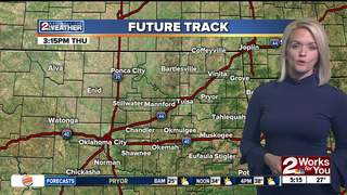 Forecast: Increasing early afternoon clouds