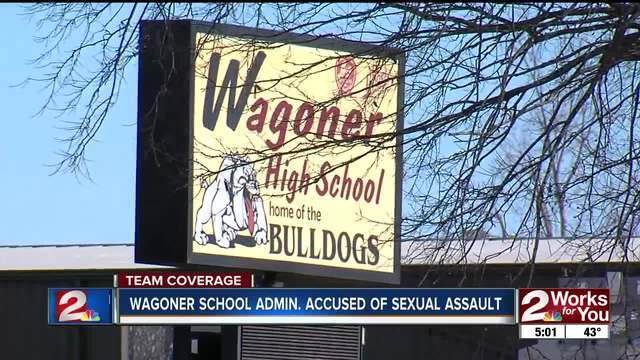 Wagoner High School administrator accused of sexual assault