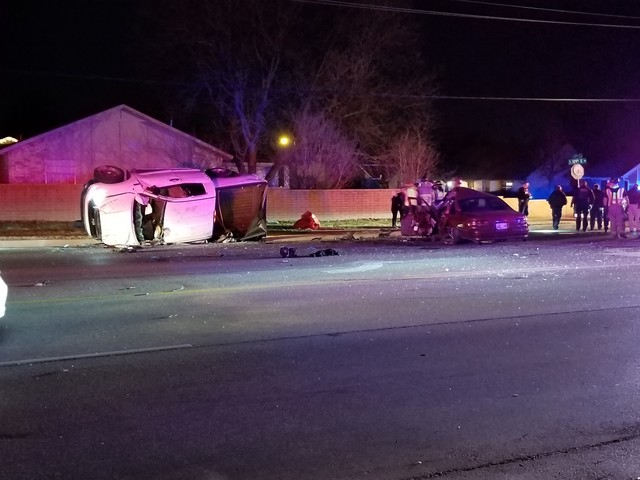 Deadly crash in east Tulsa; four seriously hurt